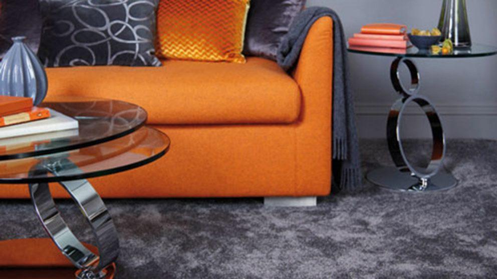 Carpet Cormar Sensation Twist Charcoal Living Room
