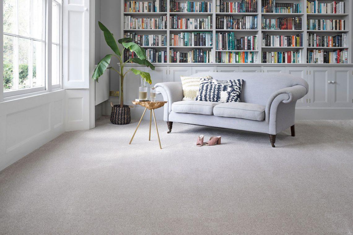 Carpet Abingdon Stainfree Grande Ermine Living Room
