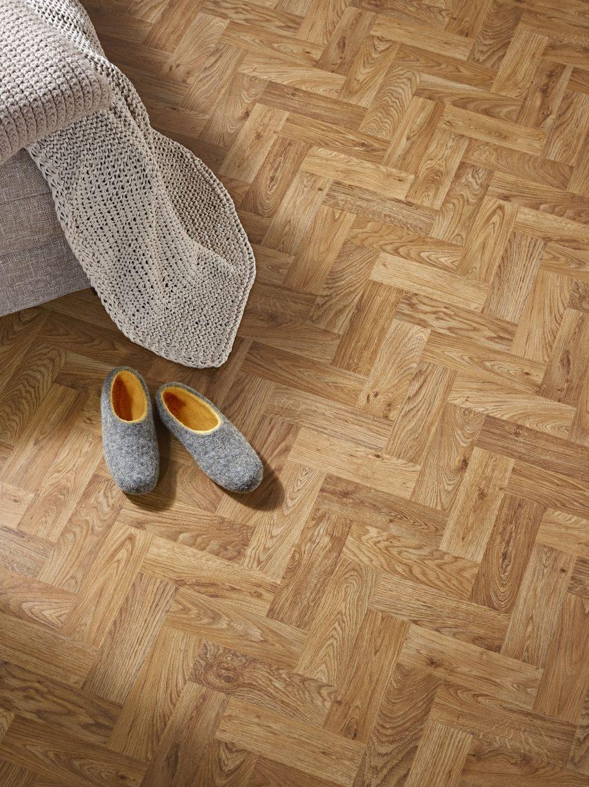 Vinyl Flooring Polyflor English Oak Parquet