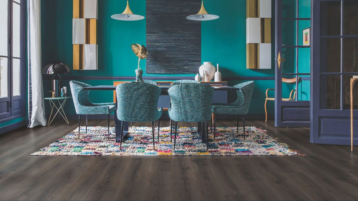 Laminate Flooring Quick-Step Dinning Room