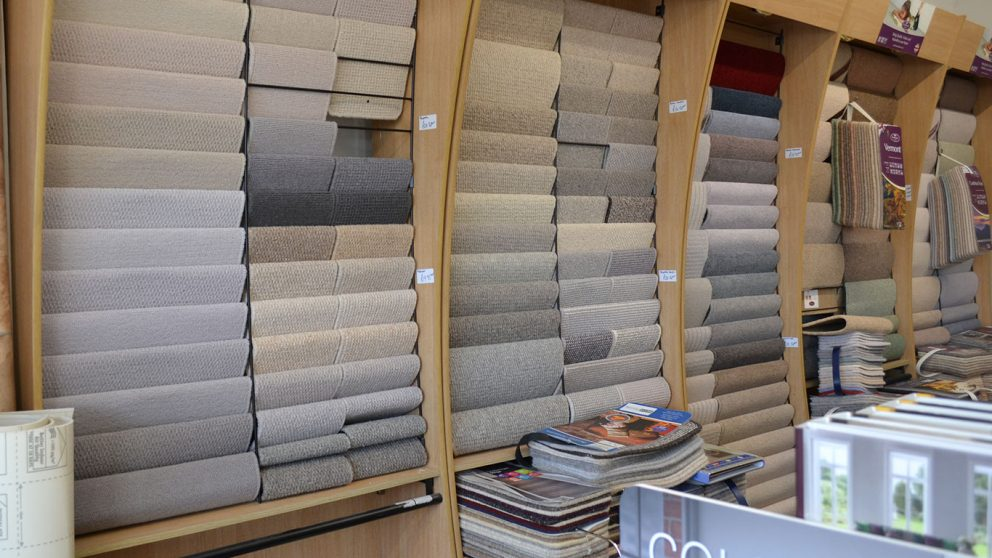 Porters carpet samples